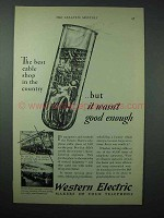 1925 Western Electric Telephone Ad - Best Cable Shop