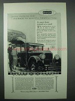 1925 Dupont Duco Finish Ad - Enduring Finish