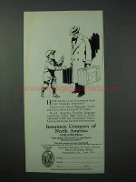 1925 Insurance Company of North America Ad - Baggage