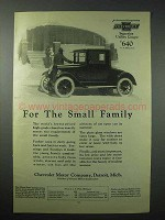 1924 Chevrolet Superior Utility Coupe Car Ad