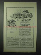 1923 American Face Brick Association Ad - House No. 610