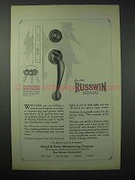 1923 Russwin Distinctive Hardware Ad