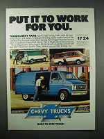 1980 Chevy Van Ad - Put it To Work For You