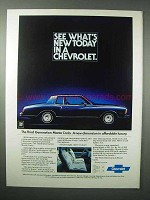 1978 Chevrolet Monte Carlo Car Ad - What's New Today