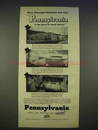 1940 Pennsylvania Department of Commerce Ad