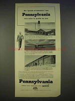 1940 Pennsylvania Department of Commerce Ad - Profits