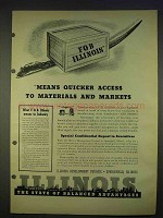 1940 Illinois Development Council Ad - Quicker Access
