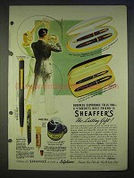 1940 Sheaffer's Pen Ad - Admiral, Lady Sheaffer