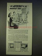 1940 Monroe Adding-Calculator Ad, Autocrat of Breakfast