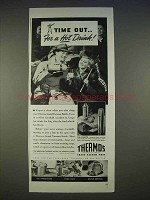 1940 Thermos Vacuum Bottle Ad - Picnicker