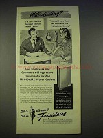 1940 Frigidaire Water Cooler Ad - Will Appreciate