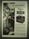 1940 Delco Battery Ad - The News Spreads