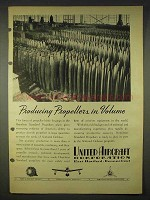1940 United Aircraft Ad - Producing Propellers Volume