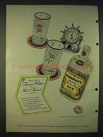 1940 Schenley Gin Ad - For Your Real Friends