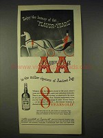 1940 Ancient Age Whiskey Ad - Luxury of Flavor-Years