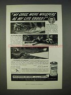 1940 Eveready Batteries Ad - My Cries Were Whispers