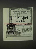 1940 De Kuyper Blackberry Liqueur Ad - For Centuries