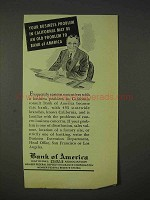 1940 Bank of America Ad - Your Business Problem