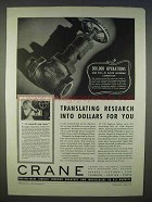 1939 Crane Plumbing Ad - Translating Research For You