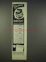 1939 Marchant Silent Speed Calculators Ad - 29 Years