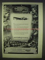 1939 Lockheed Aircraft Ad - Look to For Leadership