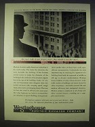 1938 Westinghouse Electric Elevator Ad - Public