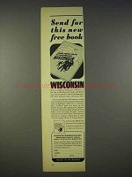 1938 Wisconsin Conservation Ad - Send For This