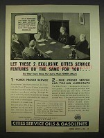 1938 Cities Service Oils and Gasolenes Ad - Exclusive