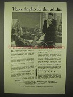1938 Metropolitan Life Insurance Ad - Home's The Place