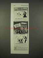 1938 Sir Walter Raleigh Tobacco Ad - Cheese It!