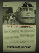 1938 General Electric Ad - Flying Yankee Train
