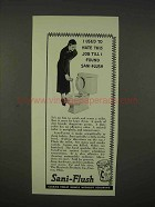 1938 Sani-Flush Cleaner Ad - I Used To Hate This Job