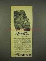 1938 Tennessee Department of Conservation Ad - Sport's