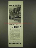1936 Japan Tourism Ad - How Much Would It Cost