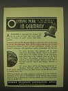 1936 Germany Tourism Ad - Xith Olympic Games