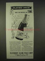 1935 Clicquot Club Pale Dry Ginger Ale Soda Ad