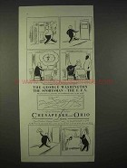 1935 Chesapeake and Ohio Lines Railroad Ad - The George Washington