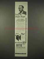 1935 Ditto Copy Machine Ad - I Heard the Order