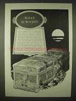1935 Mimeograph Machine Ad - What Is Within