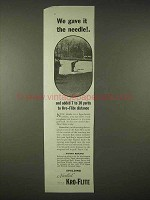 1935 Spalding Needled Kro-Flite Golf Ball Ad