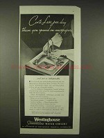 1935 Westinghouse Streamline Water Cooler Ad
