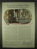 1935 Kimberly-Clark Kleerfeet Paper Ad - Democracy