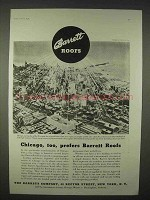 1935 Barrett Roofs Ad - Chicago Too Prefers