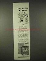 1935 Sir Walter Raleigh Tobacco Ad, Putt Missed by Puff