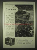 1935 Delco-Remy Car Battery Ad - A Little Power-House