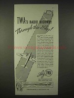 1935 TWA Airlines Ad - Radio Highway