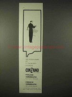 1935 Cinzano Vermouth Ad - A Glorified Cocktail