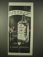 1935 Gordon's Gin Ad - Makes The Best of Drinks