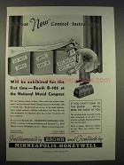 1946 Minneapolis-Honeywell Control Instruments Ad