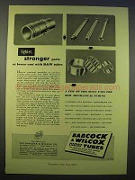 1946 Babcock & Wilcox Seamless & Welded Tubes Ad - Lighter